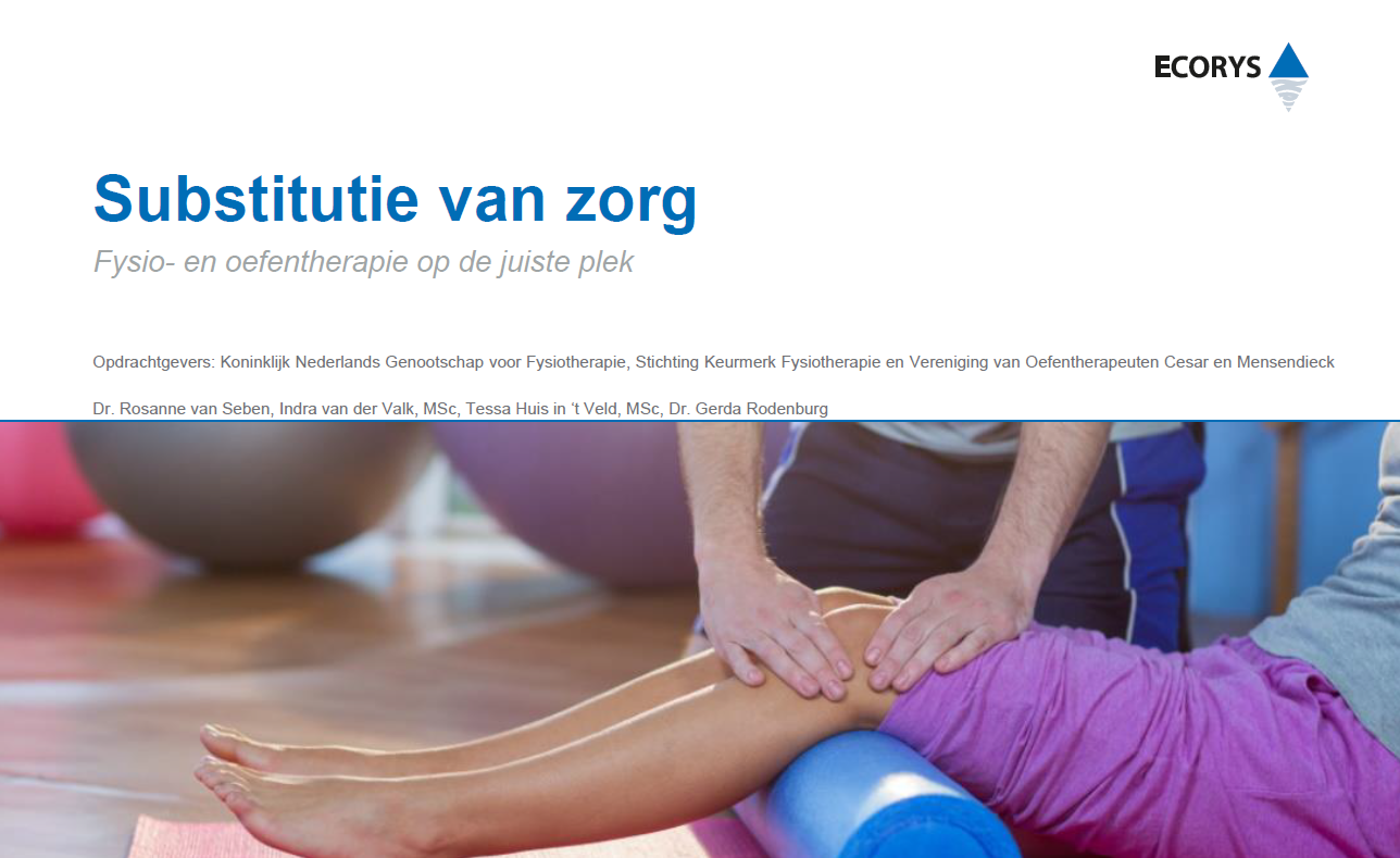 Fysiotherapie is niet alleen effectief maar ook goedkoper.